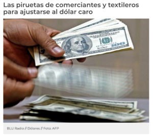 Sector de textiles jeans colombianos
